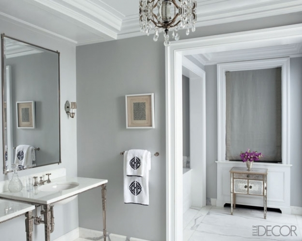 Image of With Best Paint Colors  Best Colours For Small Bathrooms
