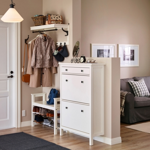 Beautiful Hallway Furniture Amp Ideas Ikea Shoe Storage Solutions For Small Spaces