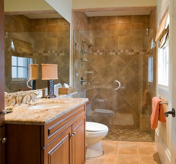 Gorgeous Chic Small Remodeling Bathrooms Ideas