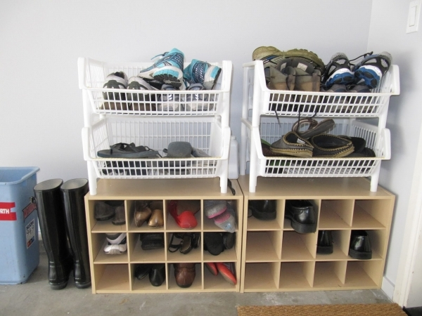 Marvelous Simple Diy Shoe Rack Storage Behind The Door For Small And Narrow Shoe Storage Solutions For Small Spaces