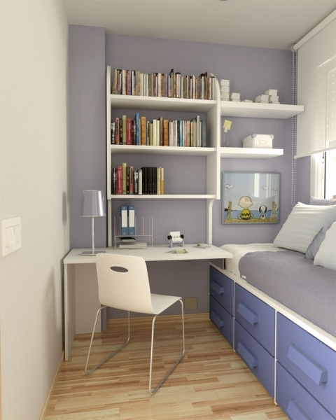 Remarkable Trick Narrow Bedroom Design Hipo Campo Small Rooms Decorated
